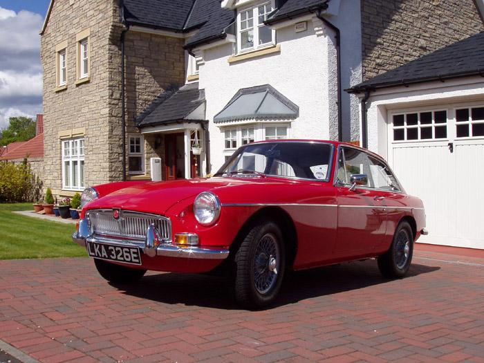 This is a lovely example of a 1967 GT, lovingly restored.