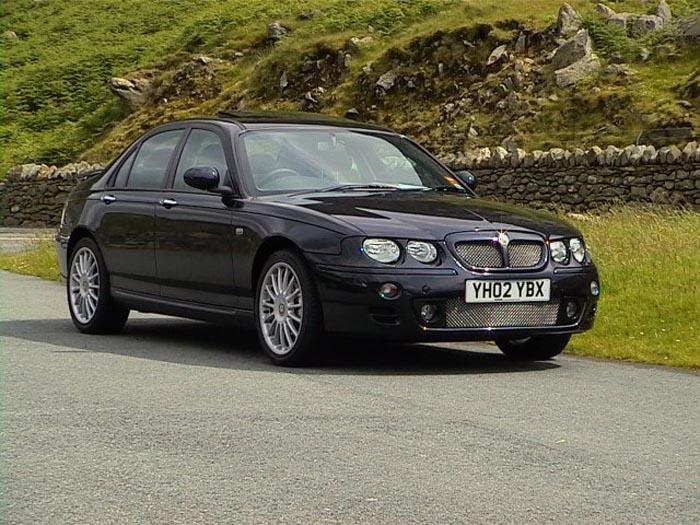 MG ZT 160+ V6, Anthracite