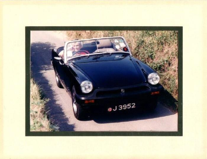 This was the beginning of my passion for MG's. A beautiful 1978 1500. Sadly it died & has been replaced with little green Harriet