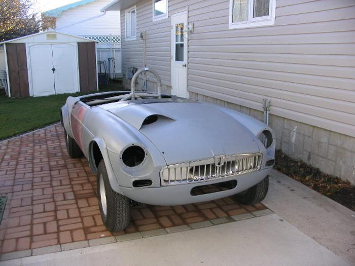 This is the actual car under restoration in USA.