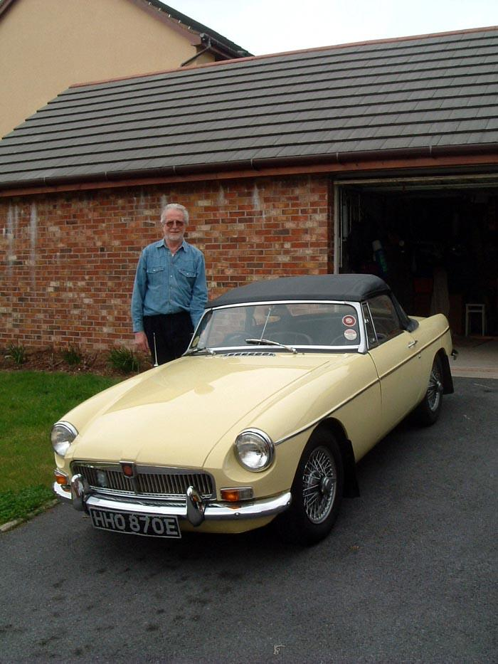 I have waited years for a classic and now I bought one for my 65th birthday. Lucky me Melyn is Welsh for yellow !