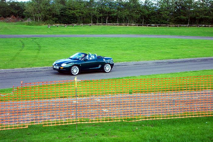 Showing the TVR lads how it's done at Alford 2005