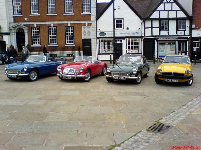 120 Cars turned up this year at the classic car show held in Atherstone ..a couple of members cars turned up as well