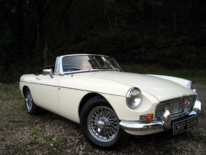 1967 MGB Mark One.