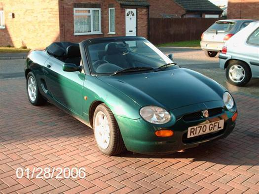 After 30 years of wanting an MG - I have finally splashed out on 'something for the weekend' !