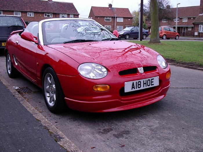 My 1996 MGF 1.8 with a few mods