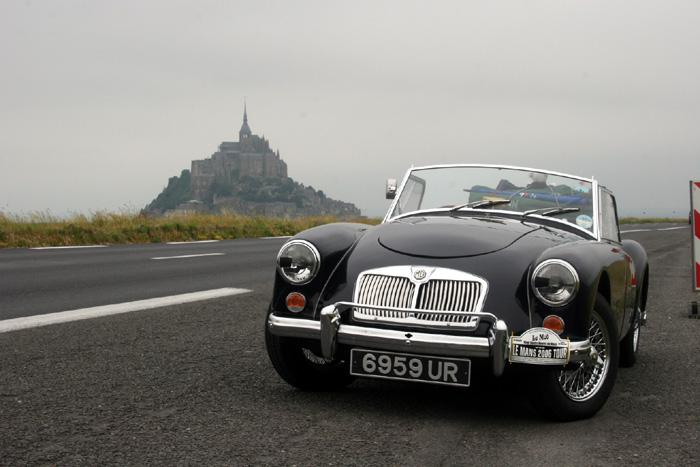 On the way to the 2006 Le Mans 24hr race we stopped at Mount St. Michel.