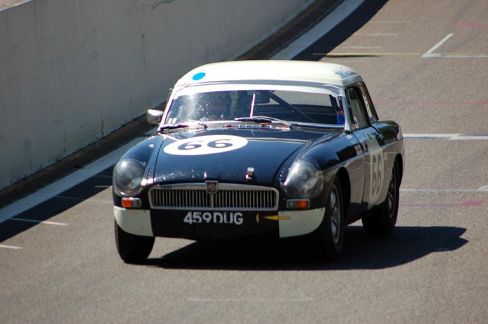 Another shot of Bob Luff and Ian Prior during the 2-hour race in Spa-Francorchamps