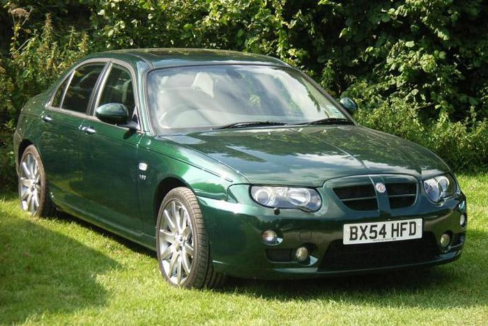 My ZT 190 SE in British Racing Green. An auctioned off MG Rover Company Vehicle with 1086 miles on the clock when I bought it.