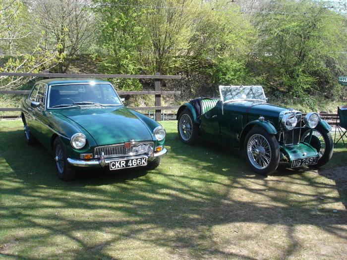 Two lovely MG's