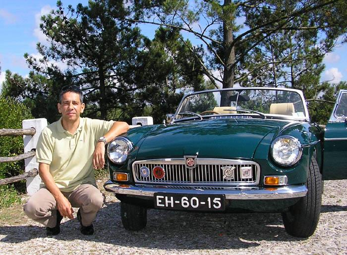 73 MGB after overhaul(previous UK SPP695L)now in Portugal.