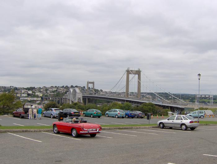 1970 B at the Tamar bridge Plymouth