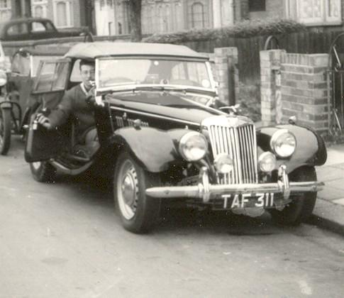 1954 MG TF 1250cc Black,at Rochford,Essex