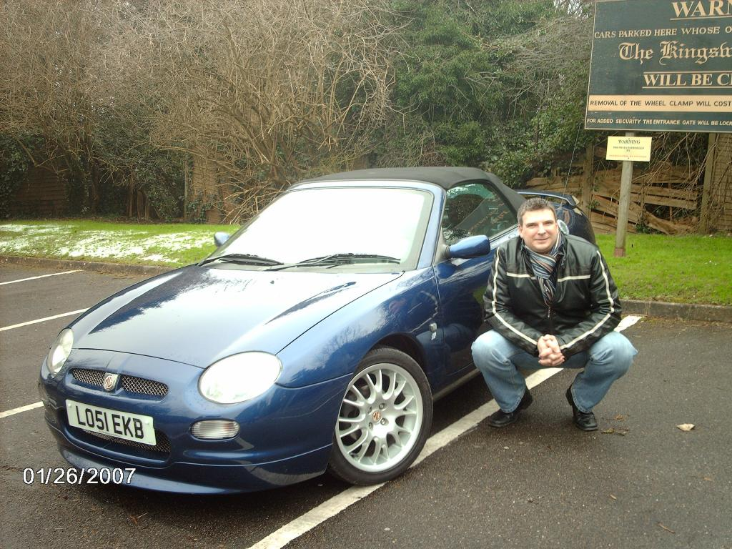 Waited 12 years since selling my Midget to get another MG. VVC Freestyle.Jan 07.