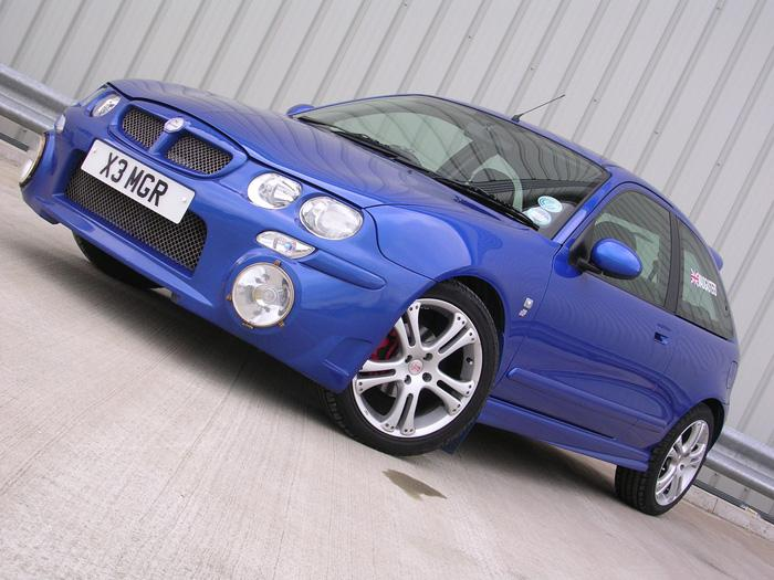 My MG ZR with XPower rally bumper