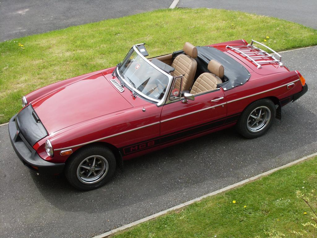 Californian spec' MGB. My car when I lived in Marin Co., now back in UK