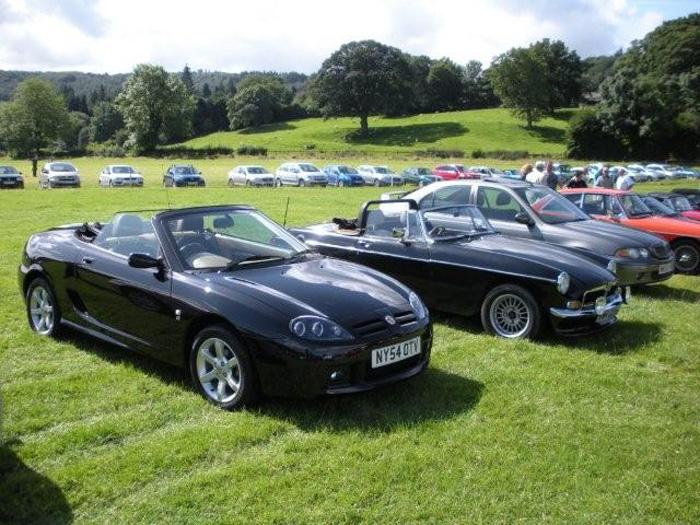 A brilliant day out in my MG TF 135 at Harrogate 2009 show