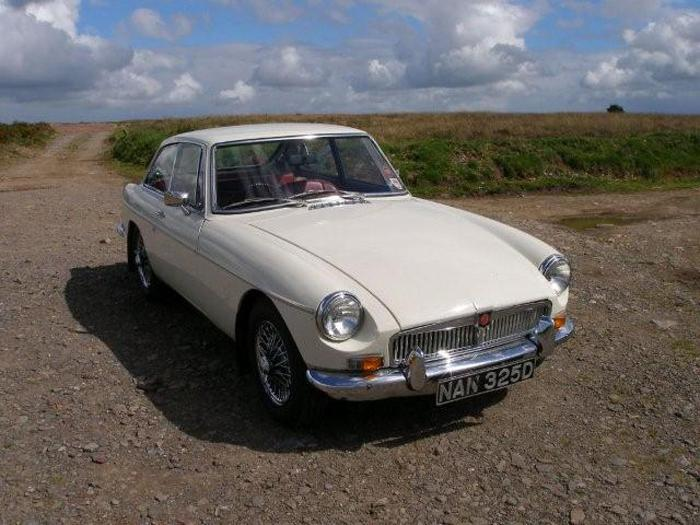 My 1966 GT enjoying the view from Winsford Hill, Exmoor Summer 2007