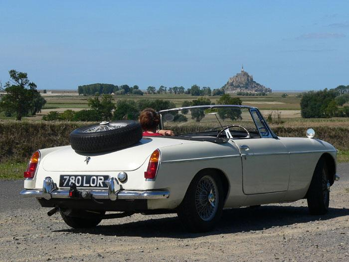 Brittany provides perfect touring conditions for the roadster.