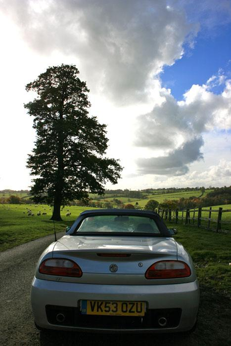 More fun in rural Leicestershire with my first love and first MG, both being the same
