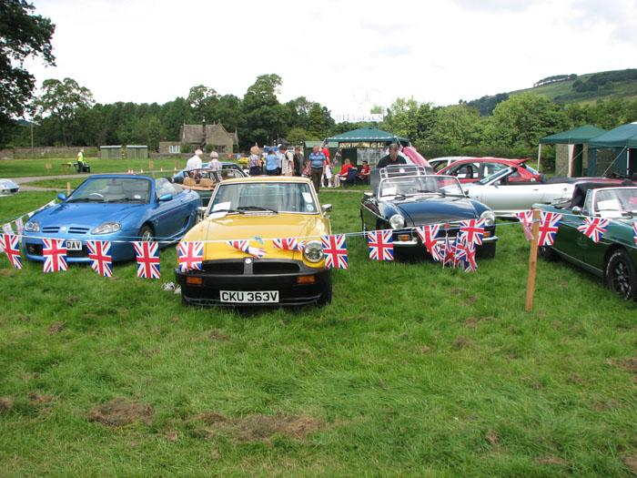 Lovely MGB at Northern show