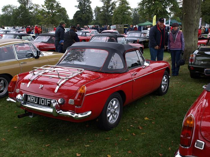 At MGB50 with the TVMGOC